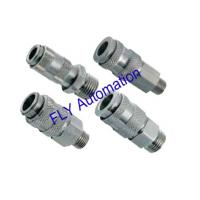 Wholesale 35 Bar Nickel Plated Brass Legris 9201 Metal Pneumatic Tube Fittings from china suppliers