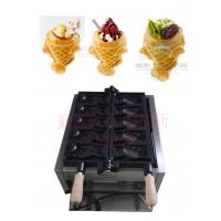 Quality 110V/220v Ice cream Taiyaki machine with open mouth for sale