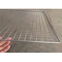 Wholesale Stainless Steel Wire Mesh Tray Light Weight With Heat Resistant FDA SGS from china suppliers