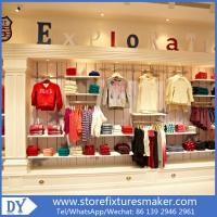 Wholesale Factory OEM Project wooden Clothing Stores For Boys,Boys Clothing Stores with custom big logo from china suppliers