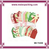 Wholesale Colorful hang tags, eco-friendly paper tags, recycle paper gift tags ME-TG008 from china suppliers