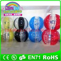 Wholesale 2015 New bumper ball human soccer bubble ball bubble football with TOP quality from china suppliers