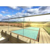 Wholesale Frameless Tempered Glass Railing / Balustrade for Terrace and Pool from china suppliers