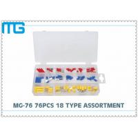 Wholesale MG - 76 76 Pcs Automotive Wire Connector Kit RV SV FDD Quick Disconects 18 Types from china suppliers