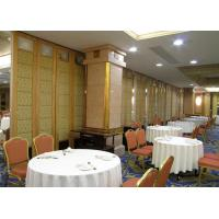 Wholesale Decorative Modular Partition Walls , Operable Acoustic Partition Wall from china suppliers