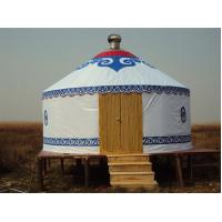 Wholesale Mongolian Tent Yurt Luxury Interior Design , Yurt Style Tent For Outdoor Living from china suppliers