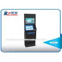 Wholesale Multifunction Coin Counting Bill Payment Kiosk LCD / TFT Dual Touch Screen from china suppliers