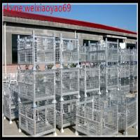 Wholesale industrial storage  wire container cage/security cage /pallet cage/wire security cage/metal storage sheds(10% discount) from china suppliers