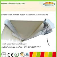 Quality both remote motor and manual control awning DM660 for sale