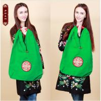 Quality Factory OEM/ODM shoulder bags large size embroidered bag for ladies daily use canvas shoulder bag for sale
