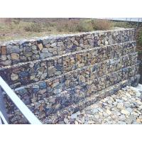 Wholesale High Quality Customized PVC Coated Galvanized Stainless Steel Gabion Retaining Wall from china suppliers