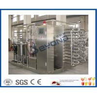 Wholesale CE Fruit Processing Equipment , Tubular Uht Processing Equipment For Fruit Juice from china suppliers