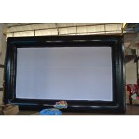 Wholesale Advertising Black & White travel inflatable Movie Screen Party or Promotion from china suppliers