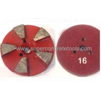 Quality 3inch Floor Metal Grinding Polishing Pads Segments Plates for sale