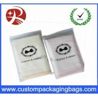 Wholesale Moisture Proof Frosted Zipper Top Bag Underwear Package Custom Logo Printed from china suppliers