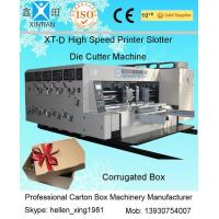 Wholesale Double Side Automatic Flexo Printer Slotter Die-Cutter Stacker Machine from china suppliers