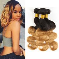 Wholesale 1B / 30 Two Tone Ombre Human Hair Extensions Brazilian Loose Wave Hair Weave from china suppliers
