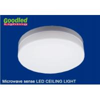 Wholesale Kitchen Emergency LED Ceiling Light , Microwave Sense Dimmable LED Lamps CRI 80Ra from china suppliers