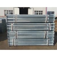 Buy cheap Adjustable scaffolding prop for slab formwork construction, decking support, post shoring from wholesalers