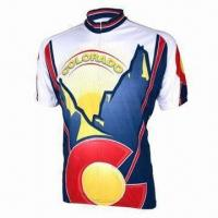 Wholesale Specialized Cycling Jersey, Ideal for Wicking Sweat Away From the Skin, OEM Orders Accepted from china suppliers