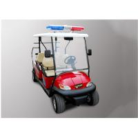 Buy cheap Street Legal Police Security Patrol Car 4 Seater For Community / Factory from wholesalers