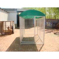 Wholesale temporary dog fence ,chain mesh dog kennel 1.8m x 2.3m x 4m size from china suppliers