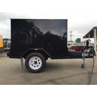 Wholesale Single Axle 7 X 5 Enclosed Trailer Furniture Vans Trailer For Camper / Moving from china suppliers