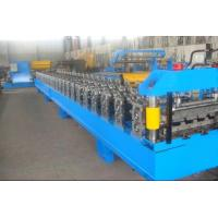 Wholesale Blue High Speed Roof Panel Roll Forming Machine / Roll Former Machine from china suppliers