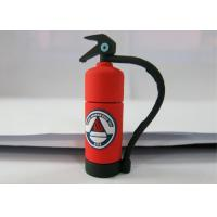 Buy cheap Personalised Red 3.0 Plastic USB Flash Drive , Fire Extinguishing Shape from wholesalers