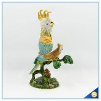 Wholesale Parrot On The Tree Trinket Box Home Decoration Jewelry Box SCJ623-2 from china suppliers