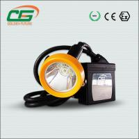 Quality Led Rechargeable Mining Helmet Lights 15000lux Waterproof IP65 for sale