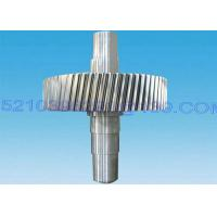 Wholesale Heavy Duty Forging Steel Pinion Gear Shaft , Steel Transmission Gears And Shafts from china suppliers