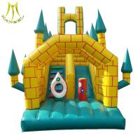 Wholesale Hansel china commercial inflatable bouncer with slide for inflatable games factory from china suppliers