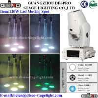 Wholesale DJ / Disco / Concert Equipment 120W Moving Head Spot , Mini Stage Light from china suppliers