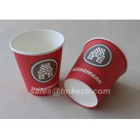Wholesale Unfolded 10oz LOGO Printed Double Wall Paper Cups For Coffee / Beverage from china suppliers