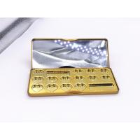 Quality 188x78x18mm Rectangle Printed Customized Perfume Gift Tin Box With Mirror For Cosmetic for sale