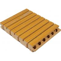 Buy cheap Soundproof Wooden Grooved Acoustic Panel For Wall / Ceiling from wholesalers