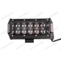 Wholesale 7.5inch Double LED Light Bar 36w 4x4 Spot / Flood / Combo Beam With 4D Lenses from china suppliers
