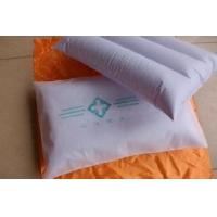 Wholesale 0.18 mm White medical Inflatable pillow for hospital with cloth cover from china suppliers