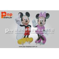Wholesale Promotional Cardboard Advertising Standee Carton Style  For Disney Fairground from china suppliers