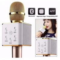 Quality Wireless Bluetooth Microphone for Home KTV Outdoor Party Karaoke with Speaker and Voice Re for sale