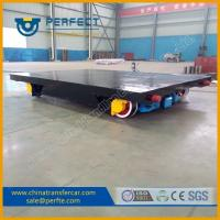 Wholesale Heavy duty moving cargo use rail cart with bearing for workshops from china suppliers