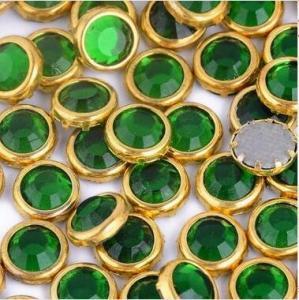 Wholesale SS20 Machine cut MC iron on crystal stone hotfix strass Ring stone Glass beads from china suppliers