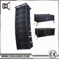 Buy cheap Guangzhou Audio Factory Active Dual 10 Inch Line Array Speaker Used Church Equipment from wholesalers