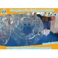 Quality Inflatable Transparent Human Knocker Soccer Body Bumper 1.2m / 1.5m / 1.8m for sale