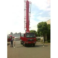Wholesale Diesel Engine 37m 8x4 FAW 380HP Concrete Pump Trucks with RHD Type from china suppliers