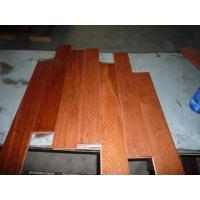 Wholesale Oak Solid Flooring .Flat Surface,UV lacquer, Gunstuck Color from china suppliers