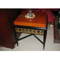 Wholesale Black Wooden Modern Wood Coffee Tables For 5 Star Hotel Lobby / Bedroom from china suppliers