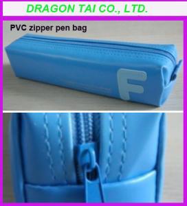Wholesale PVC zipper pen bag, pvc pen box, pvc pen case from china suppliers