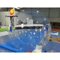 Wholesale Colorful Water Toy Ball Stripe Clear Inflatable Water Ball For Pool Or Lake from china suppliers